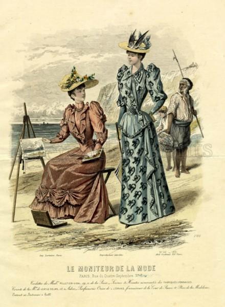 1891 Le Moniteur de la Mode