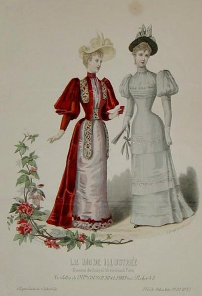 1892 La Mode Illustree
