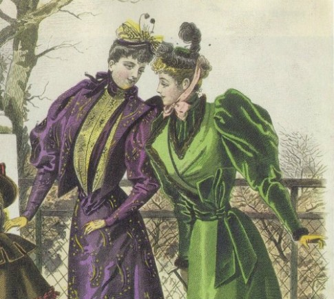 1892 coats in la Revue de la Mode