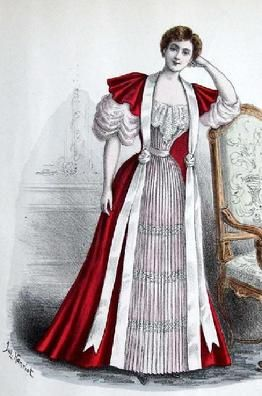 1893 Tea Gown Barrington House