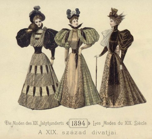 1894 La Mode Illustree