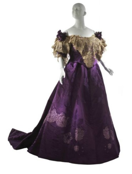 1895 Worth Evening Dress from MCNY
