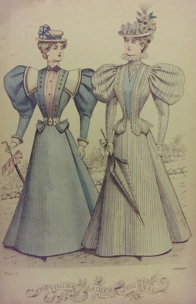 1896 Aug Young Ladies Journal