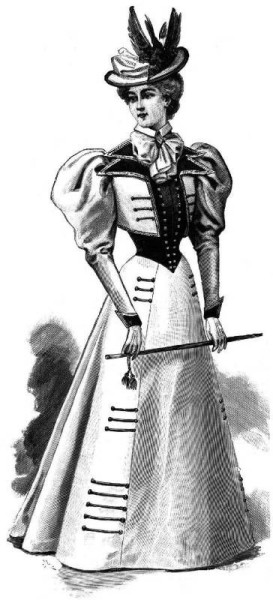 1897 Feb Harper's Bazar