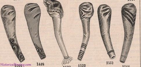 Sleeves from Delineator, January 1898