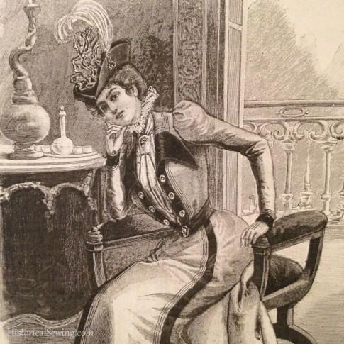 1899 La Mode Illustree sketch