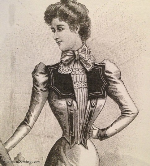 1899 La Mode Illustree bodice