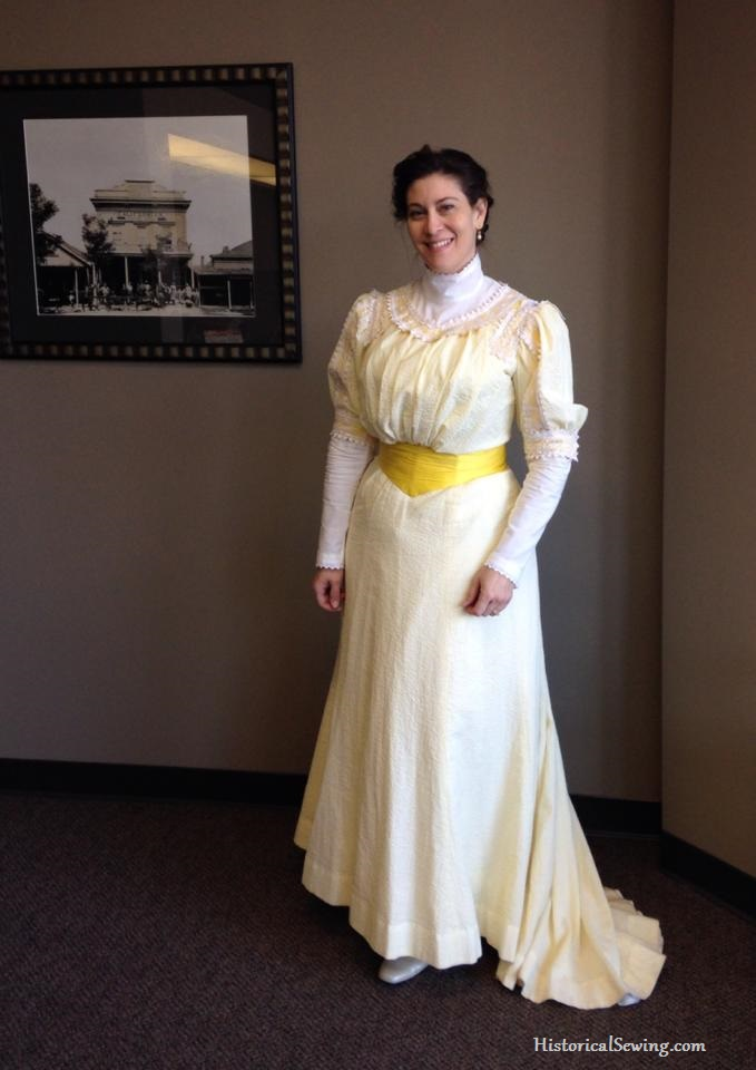 1905 Dress worn in winter