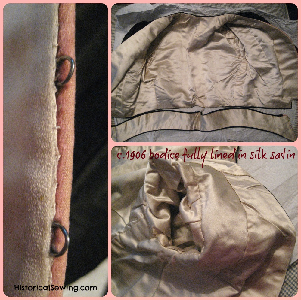 Linings & Underlinings | HistoricalSewing.com