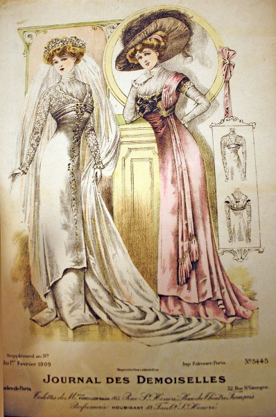 1909 Feb Bridal Gowns