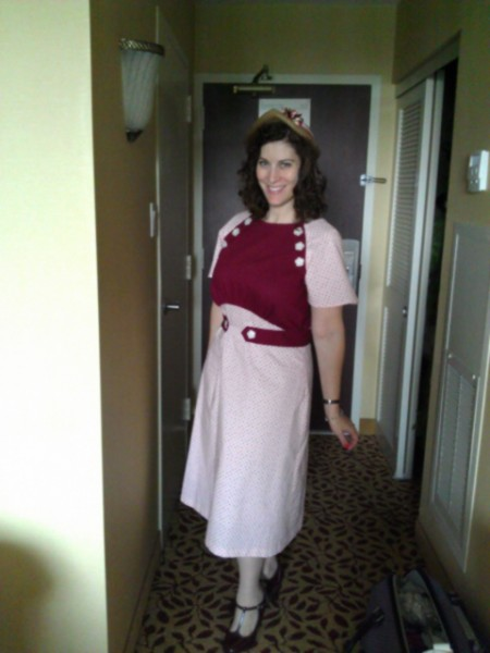 1930s Cherry Garcia Dress