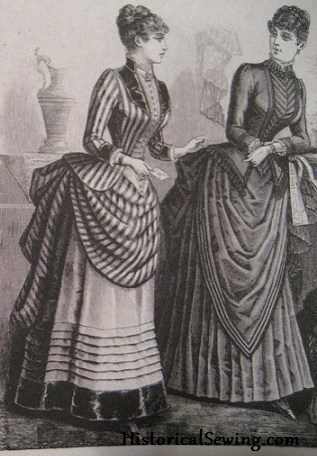 1880s Inspiration plate for bodice