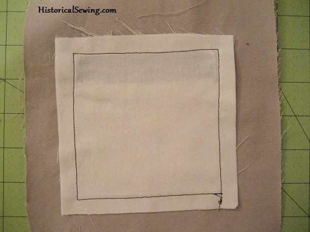 Sewn pocket lining