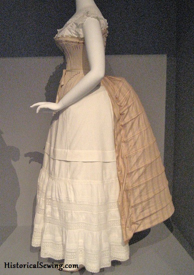 c.1885 Bustle at LACMA