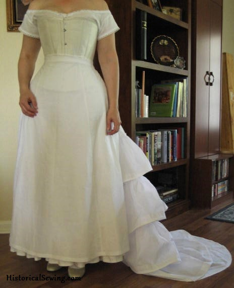 Trained Petticoat as worn