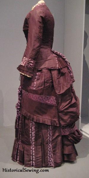 1885 Silk Taffeta Dress from LACMA