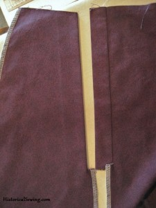Finishing Your Victorian Skirts with a Hidden Placket Opening