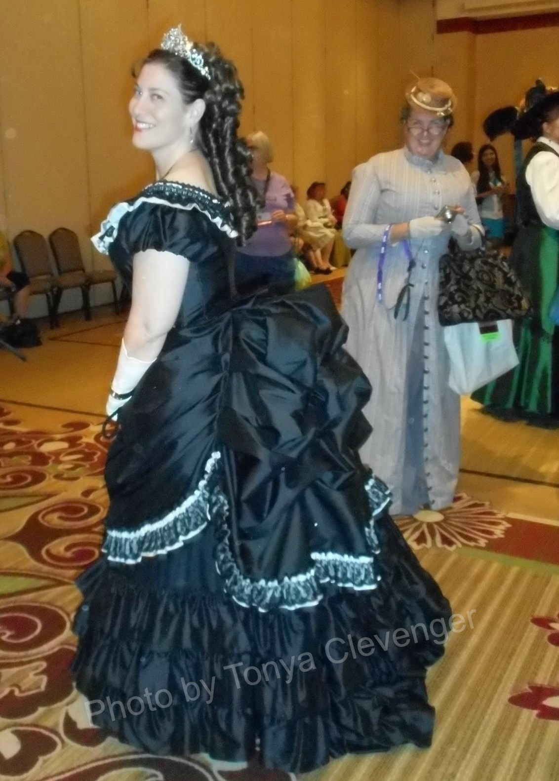 1873 Licorice Princess Dress | HistoricalSewing.com
