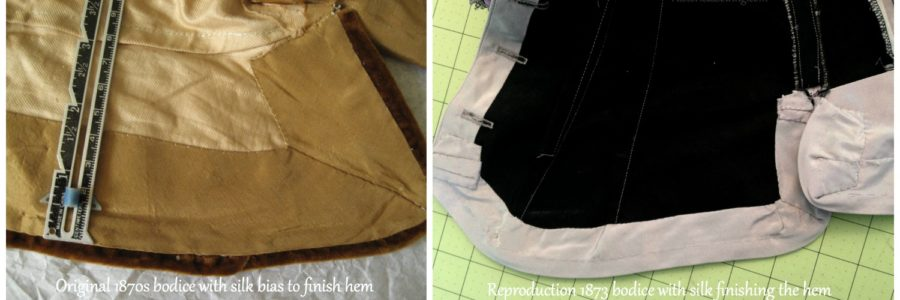 How I Use Historical and Modern Sewing Techniques