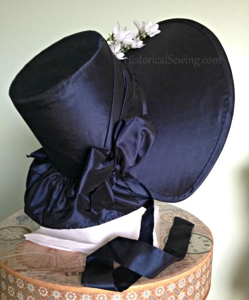 Romantic Era Bonnet right side
