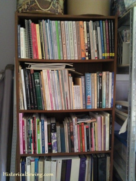 Sewing Library Bookshelf