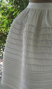 Reproduction Corded Petticoat