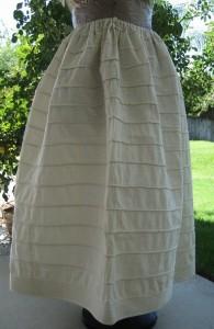 Original 1840s Corded Petticoat