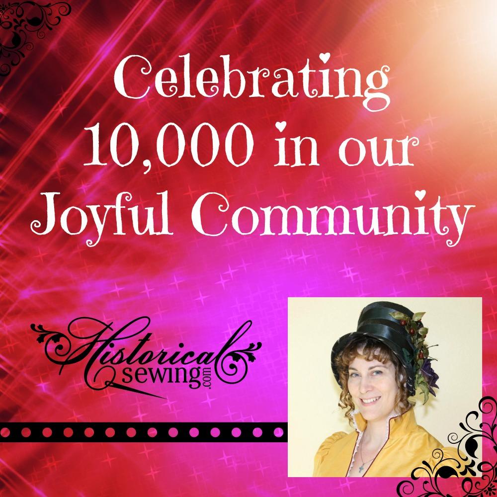 Celebrating 10,000 fans