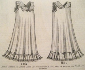 Chemise Pattern from 1902