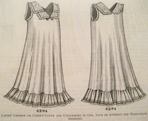 Simplifying the Search for Undergarment Patterns - Chemise & Drawers