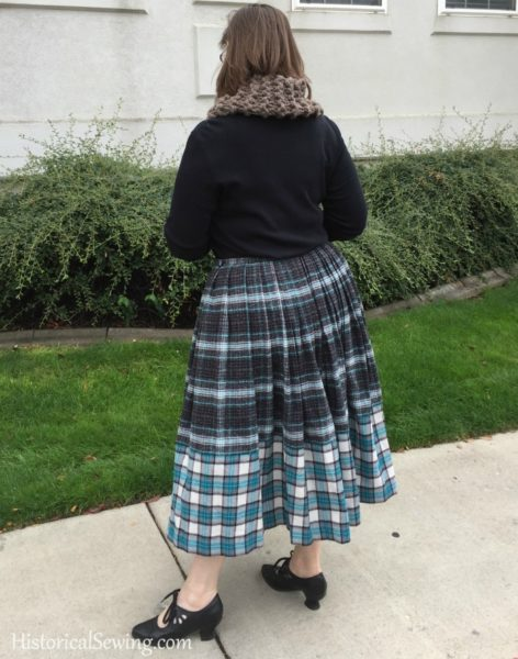Chore Skirt - finished look
