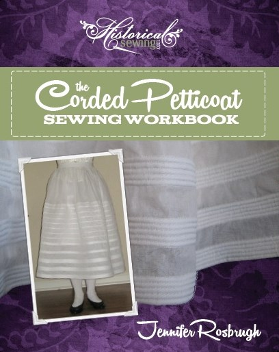 Click to order The Corded Petticoat Sewing Workbook - digital PDF format
