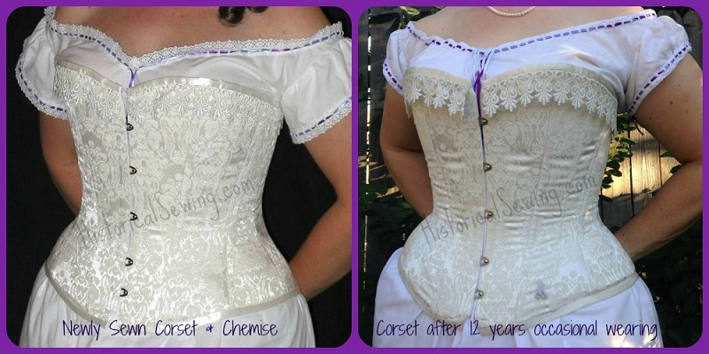 Corset Comparison - old & new