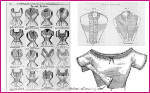 Corset Covers, Chemisettes and Under-Bodices, Oh My!