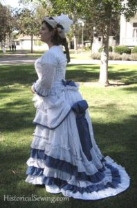 Constructing a Victorian Bustle Dress