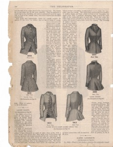 1884 Feb Delineator Jackets