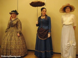 1860s, Bustle & Edwardian ladies