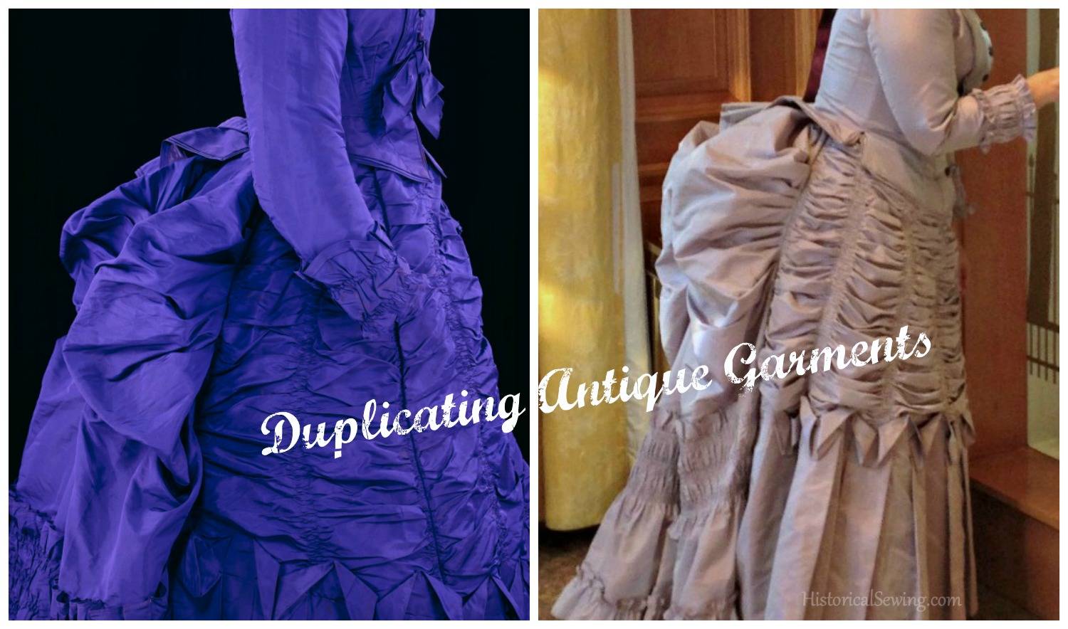 Duplicating Antique Garments