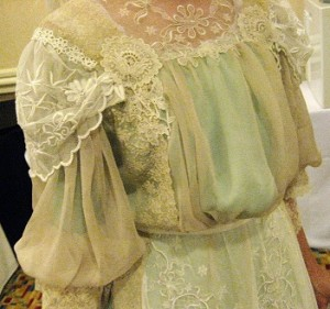 Edwardian Era sheer bodice