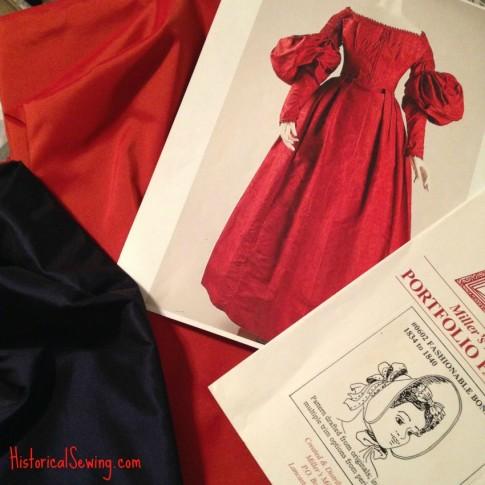 1838 Fabrics & museum dress design