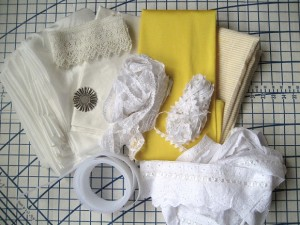 Fabric & lace from the LA Fabric District