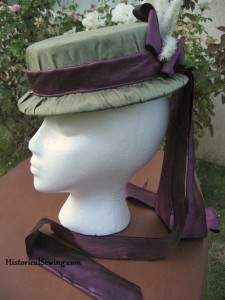 Hat left side view