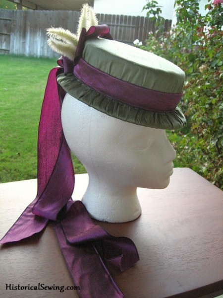 The 3-Hour 1871 Hat   HistoricalSewing.com