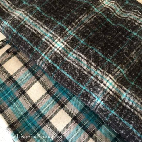 Chore Skirt - cotton plaid fabrics