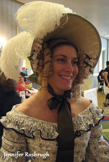 Jen in 1838 costume