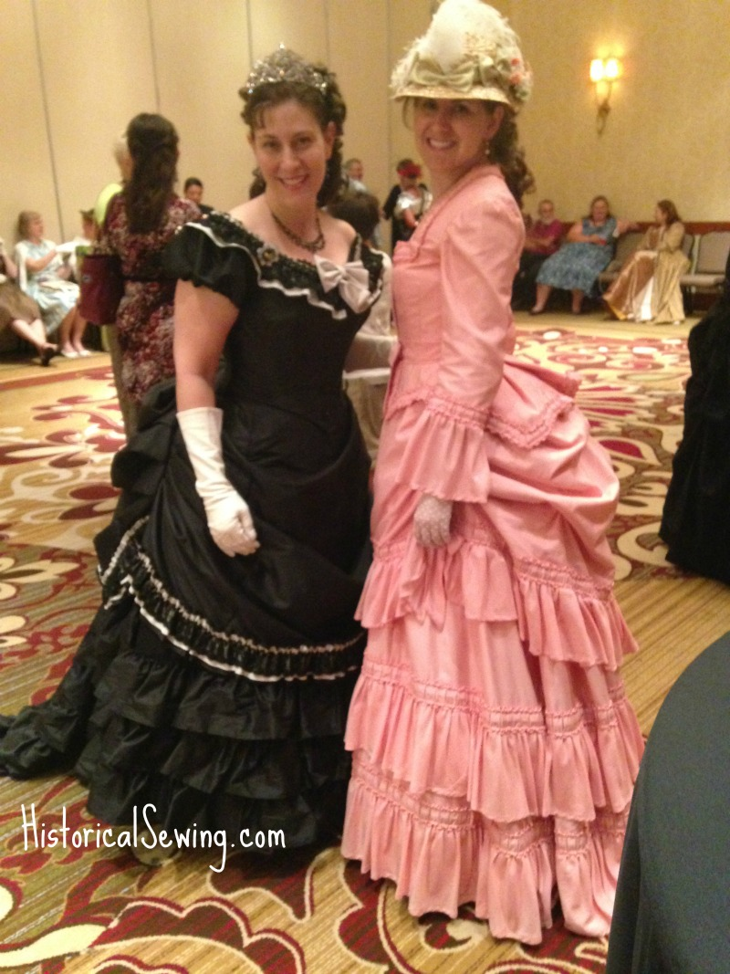 Jen & Christina at the Costume College Social