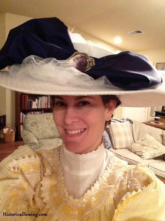 1912 Sugared Violets Hat