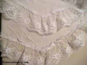 Lace Ruffle on Drawers