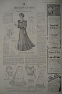 Edwardian Maternity Clothes