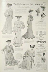 1902 Early Autumn Suits